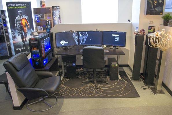 Дизайн геймерских комнат