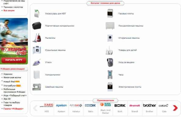 Описание товаров в интернет-магазине