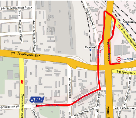 рижская метро схема