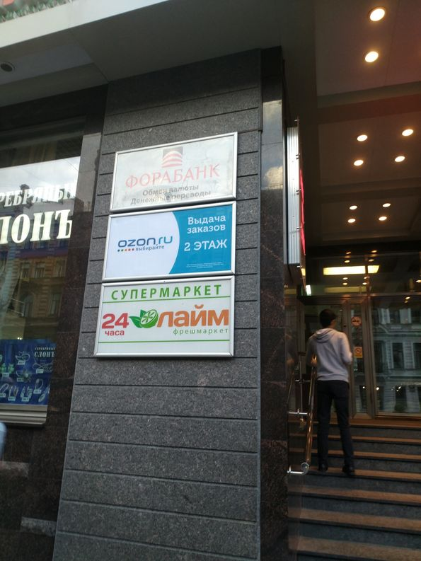 Тестирование магазина OZON.ru в Санкт-Петербурге