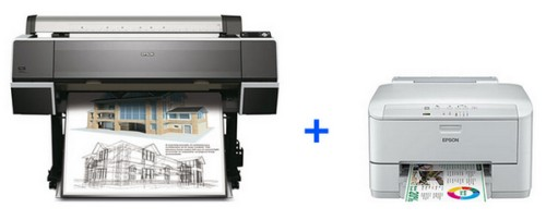 Epson WorkForce Pro 4015DN в подарок