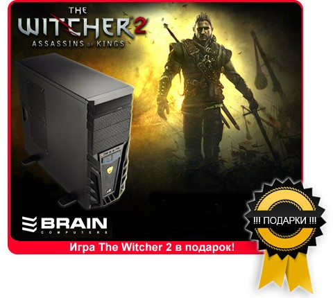���� The Witcher 2 � ������� � �������� BRAIN
