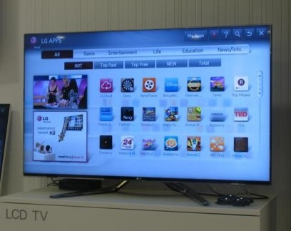LG Smart TV Apps