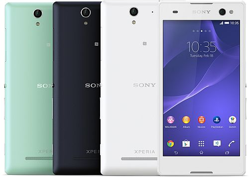 Xperia c specifications